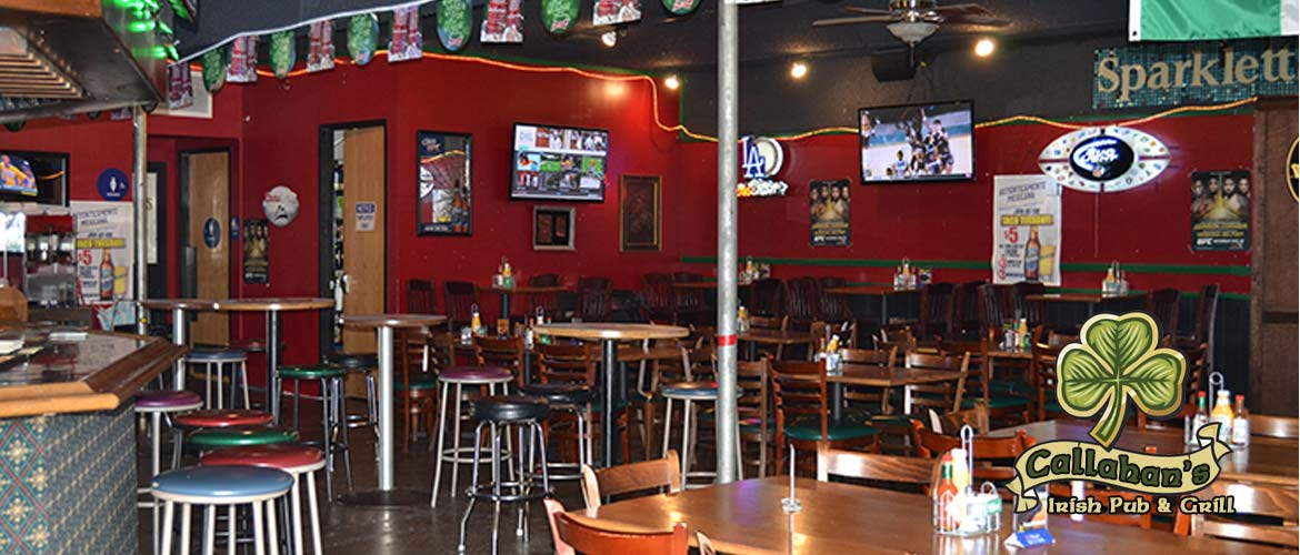 Callahan's Irish Pub & Grill located in Azusa, Irwindale, CA.